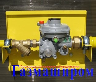 ШРП-ГК-103 на регуляторах давления газа FE P.Fiorentini, RF Фаргаз